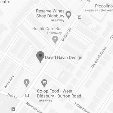 find David Gavin Design on google maps